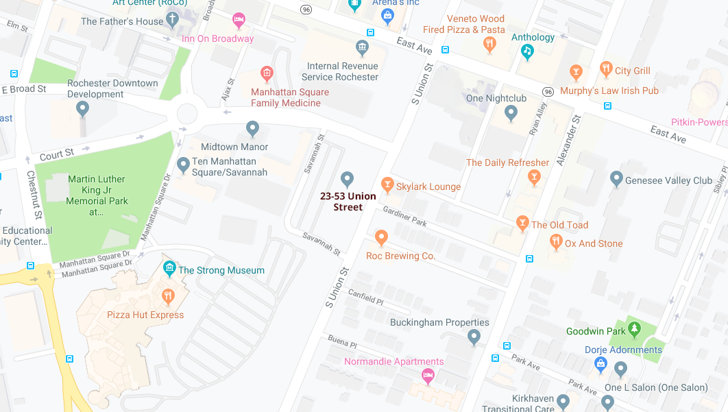 VIDA Google Map